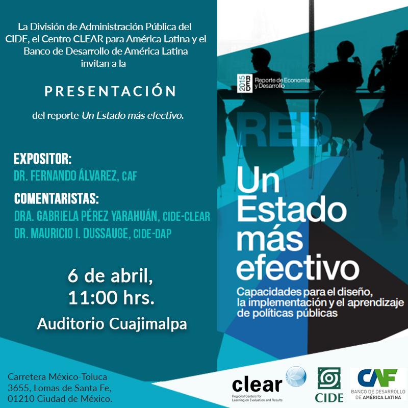 INVITACIÓN REPORTE CAF