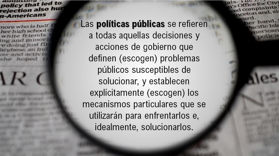 En defensa de las Políticas Públicas